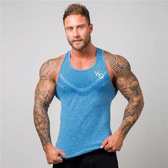 Camiseta Tank Vest Gym Crossfit Vanquish Fitness Gimnacio