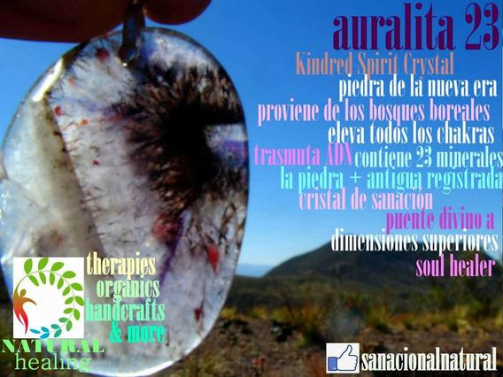 Auralite Auralita 23 Mineral De Colección Dije