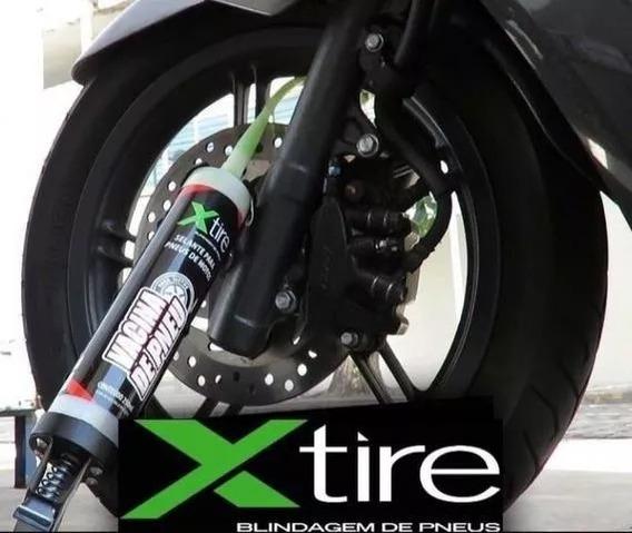 2 Frascos Vacina Selante Xtire Para Pneu Moto Bike Bicicleta