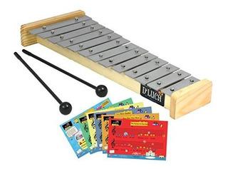 Dluca Tl132 13 Notas Niños Glockenspieles De Xilofono Con T