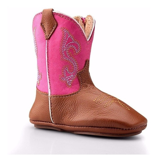 Bota Texana Country Baby Infantil Capelli Boots Couro 50-inf