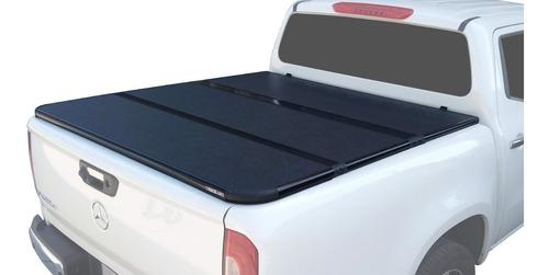 Tapa Rigida Plegable Chevrolet Silverado D/c 2008-2019 Aumex