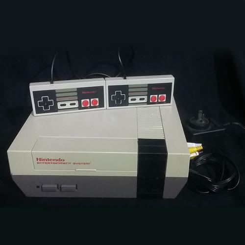 Consola Nes +2 Joysticks +zapper +mario Bros/duck Hunt