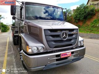 Caminhão Mb Atron 1319, 2016, Carroceria Nova, Impecável!!!