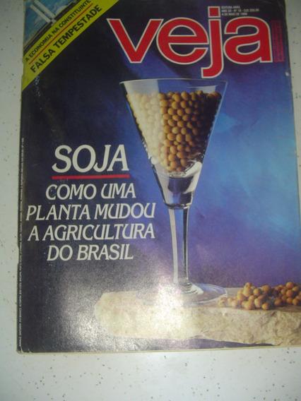 Revista Veja 1026 História Da Soja No Brasil Elba Mader 1988