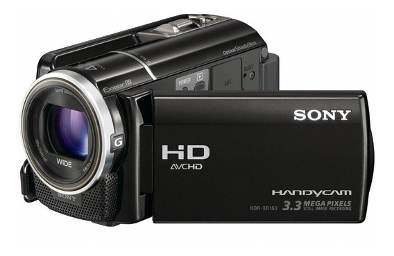 Câmera Filmadora Sony Handycam Hdr Xr-160