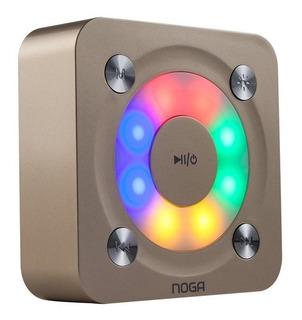 Parlante Portatil Bluetooth Noga Ng-p20 Luces Led Llamadas E