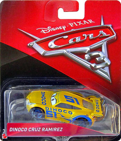 Disney Cars 3 Dinoco Cruz Ramirez Mattel Lacrado Carros 3