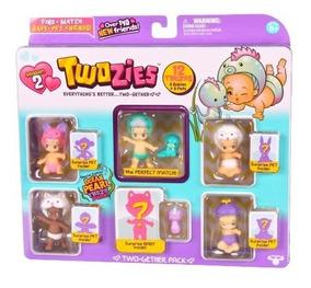Twozies Serie 2 Blister C/12 Surpresas 6 Bebês + 6 Pets Dtc