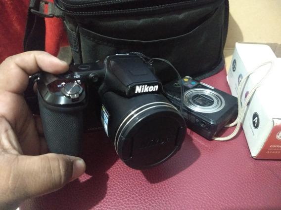 Nikon L840 + Bolsa + Tripé + Câmera Ge Básica