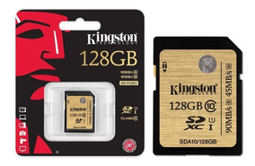 Cartão Sd 128gb Kingston Ultimate Sdxc 90mb/s Classe10 Uhs-i