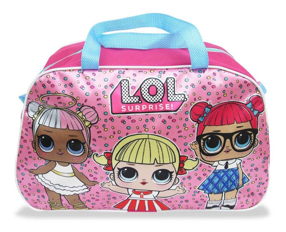 Bolsa Para Viagem Lol Surprise Infantil