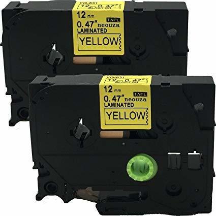 Cartucho Compativel Rotulador Brother Pt-h110 Amarela 12mm