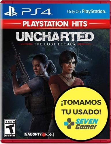 Uncharted The Lost Legacy Ps4 Juego Original Fisico Sellado