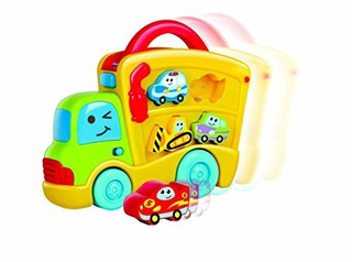 Camioncito Sonido Y Puzzle B-kids Bluebox (004704)
