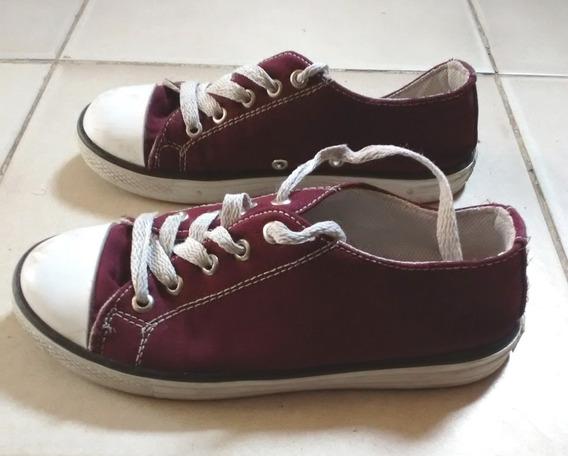 Zapatos Tipo Converse Para Niñas Niños Talla 31