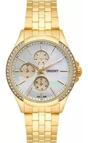 Relógio Orient Feminino Swarovski Fgssm051 - Promoção!