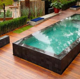 Pedra Hijau Piscina 10x10cm Lisa Grade A Premium Top