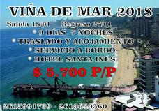 Viña Del Mar 18/01 9 Dias 7 Noches