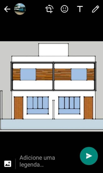 Casa 2 Qts, 2 Vagas. Area Privativa 40 M². Apenas 150 Mil Financiado - 1178
