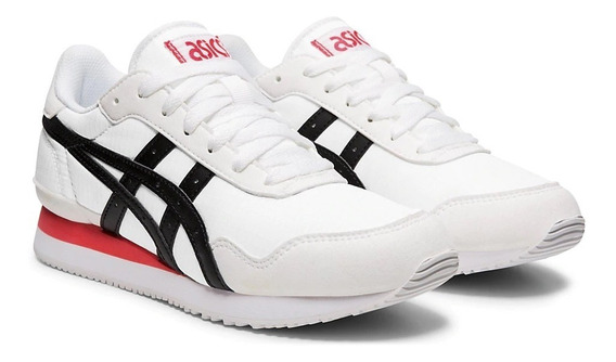 Asics Zapatillas Lifestyle Mujer Tiger Blanco - Negro Fkr