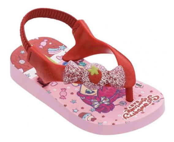 Chinelo Moranguinho Pop Rosa Ipanema Kids 010774