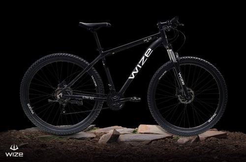 Bicicleta Aro 29 Wize X2 Hidraulica 24 Vel C/bloqueo  2021