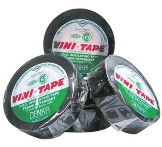 Cinta Aisladora Vini Tape 10mts Negra