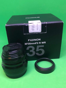 Lente Fuji Xf 35mm F/2 Wr Na Caixa