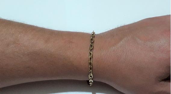 Pulseira 20 Cm Ouro 18 K Cartier Cadeado