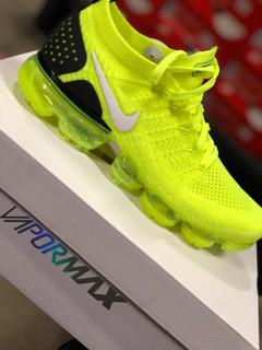 Tenis Nike Air Vapormax Amarillos Deportes y Fitness en