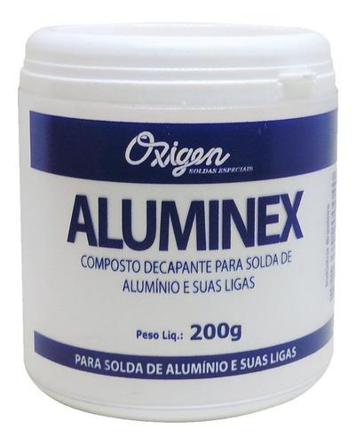 Fluxo Para Solda De Alumínio Aluminex 200g Oxigen