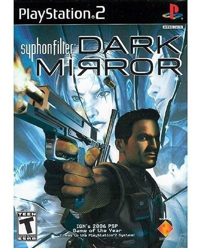 Jogo Ps2 -syphon Filter Dark Mirror -original E Lacrado