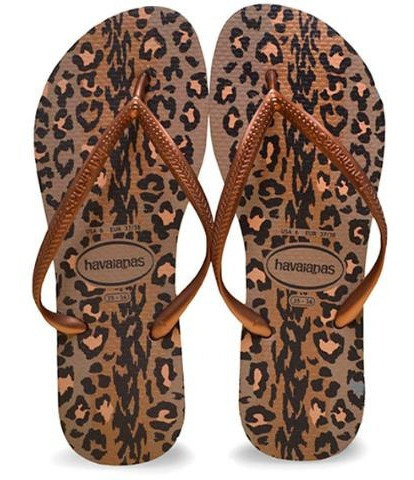 Chinelo Havaianas Slim Animals Feminino 365425 | Calcebel