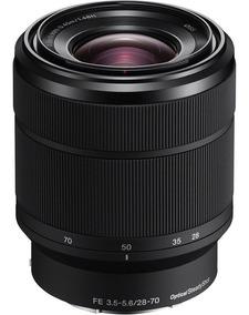 Lente Sony Fe 28-70mm F/3.5-5.6 Oss E-mount Sel2870 Nova !