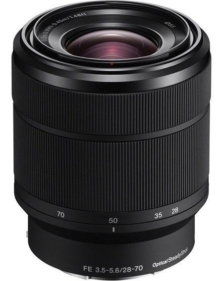 Lente Sony Fe 28-70mm F/3.5-5.6 Oss E-mount Nota Fiscal