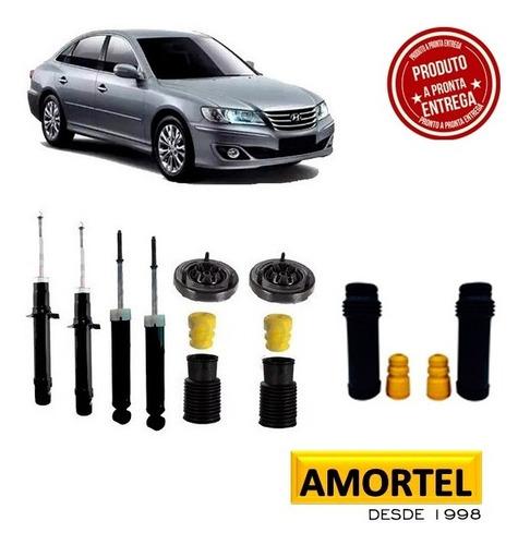 Imagem 1 de 6 de 4 Amortecedores + Kit´s Batentes Do Hyundai Azera Ano 07/11