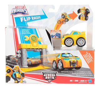 Transformers Rescue Bots Garage Propulsor Bumblebee Hasbro