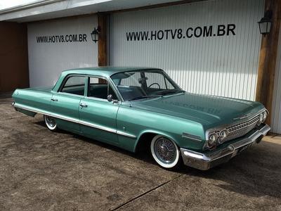 Hotv8 Vende Chevrolet Impala Sedan 1963 Em Perfeito Estado