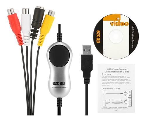 Ezcap170 Usb 2.0 Video Capture Hd Video Converter Gravador