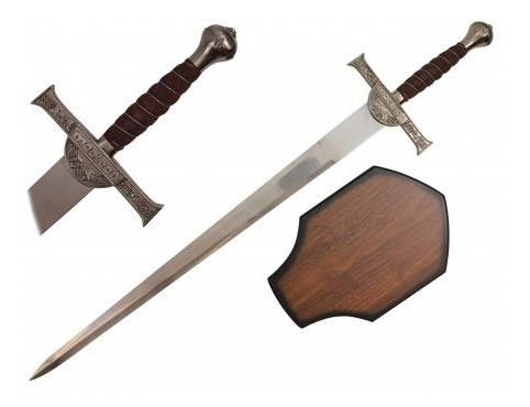 Espada Connor Macleod Highlander Con Plaqueta