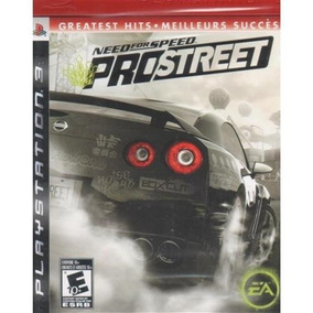 Need For Speed: Prostreet Greatest Hits Ps3 Lacrado