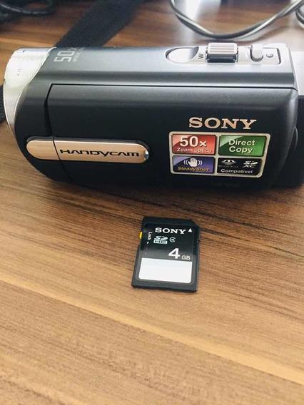 Filmadora Sony Dcr Sx20 , 50xzoom Óptico