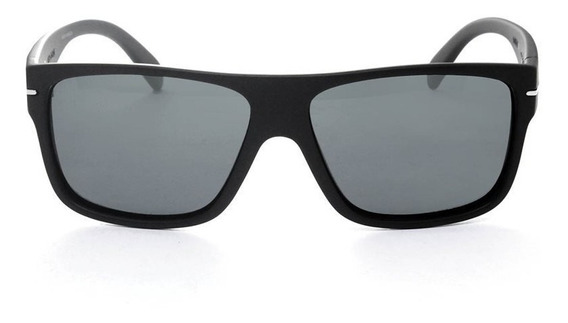 Óculos De Sol Hb Would Matte Black Polarizado Original(nf)