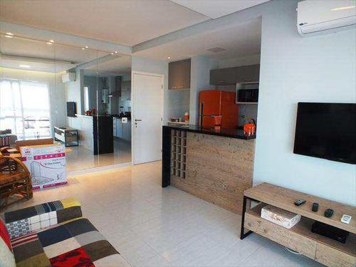 Apartamento Com 2 Dorms, Gonzaga, Santos - R$ 850.000,00, 80m² - Codigo: 713 - V713