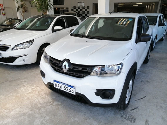 Renault Kwid 1.0 66cv 2018 - Aerocar - Finan. Pesos