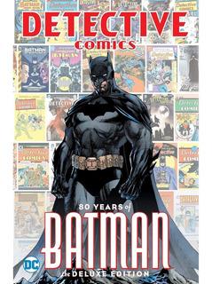 Detective Comics Batman 80 Años Edición De Lujo En Inglés