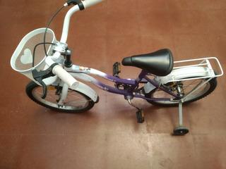 Bicicleta Usada Rodado 16 De Nena Marca Robinson