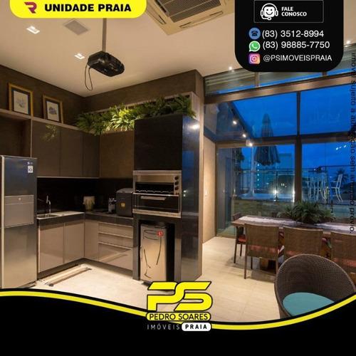 Cobertura Duplex Com 4 Dormitórios À Venda, 280 M² Por R$ 1.690.000 - Amazônia Park - Cabedelo/pb - Ap4790
