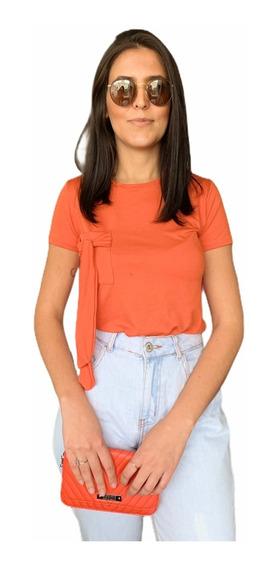 Blusa Blusinha T-shirt Baby Look Camiseta Feminina Basica